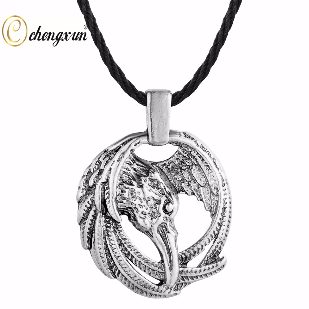 Us $0.84 80% Off|Chengxun Vintage Viking Necklace Pendant Eagle In Nordic  Rune Circle Charm Collier Choker Ethnic Necklace Animal Celtic Talisman In Inside 2020 Vintage Circle Collier Necklaces (Gallery 7 of 25)