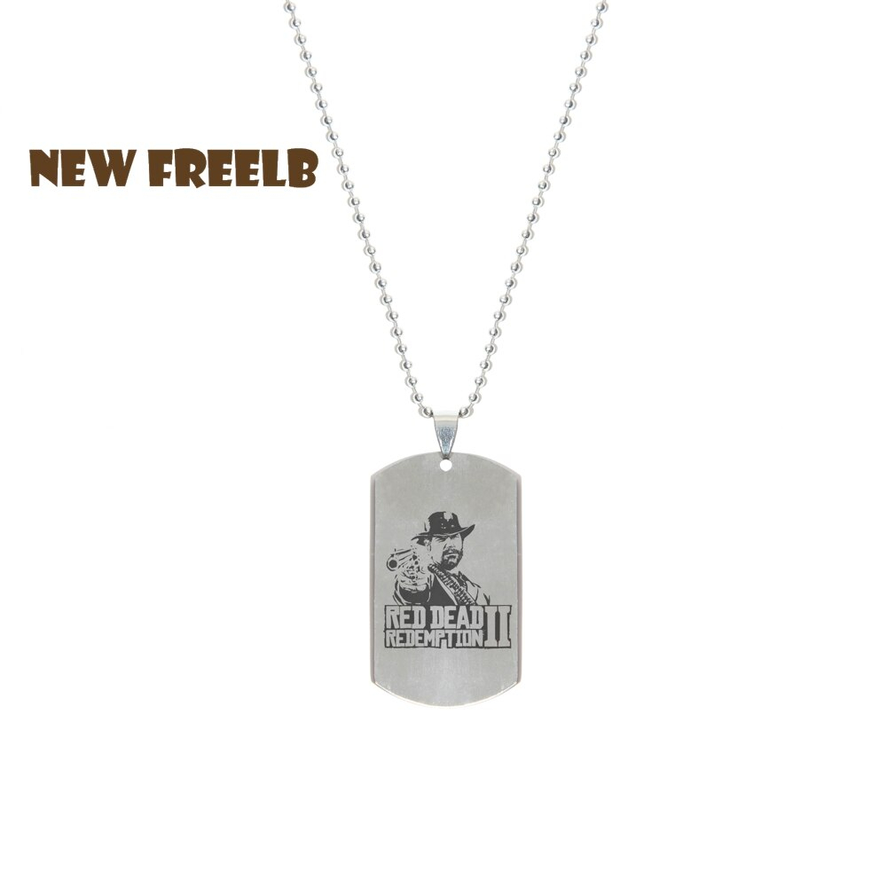 Us $2.01 44% Off|New&hot Game Red Dead Redemption 2 Necklace Stainless Steel Pendant Beaded Chain Jewelry For Rdr2 Game Fans Unisex 4 Styles In Chain In 2019 Beaded Chain Necklaces (Gallery 14 of 25)