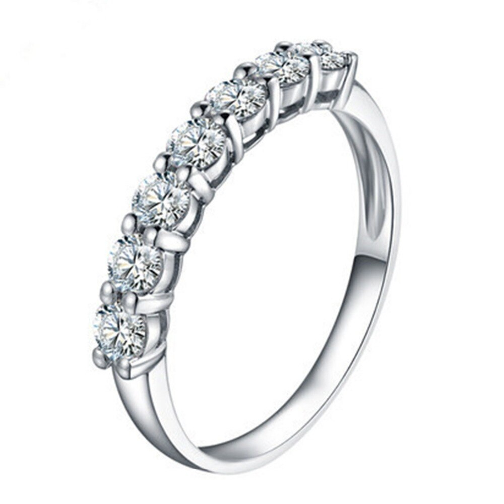 Us $204.5 50% Off|test Positive Moissanite Ring (View 5 of 25)