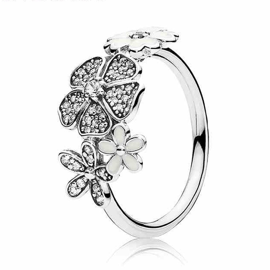 Us $6.11 40% Off|925 Silver Majestic Feathers Ring For Women Fairytale  Sparkling Cosmic Lines Shimmering Bouquet Wish Ring Fit Lady Jewelry In  Rings With Regard To Best And Newest Shimmering Feather Rings (Gallery 21 of 25)