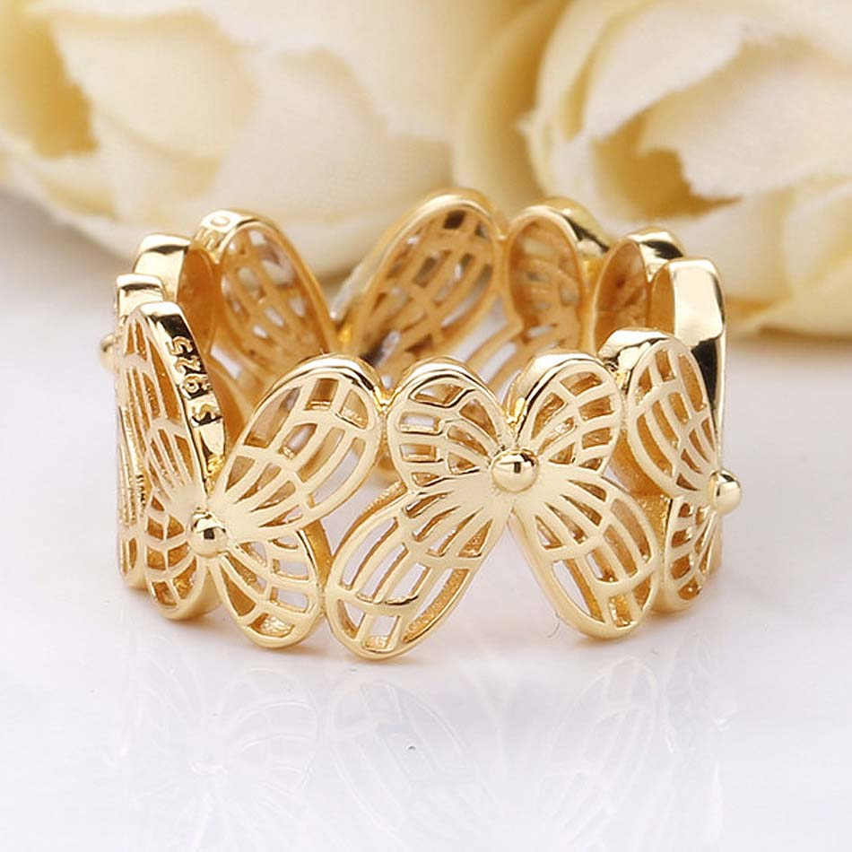 Featured Photo of Openwork Butterfly Rings
