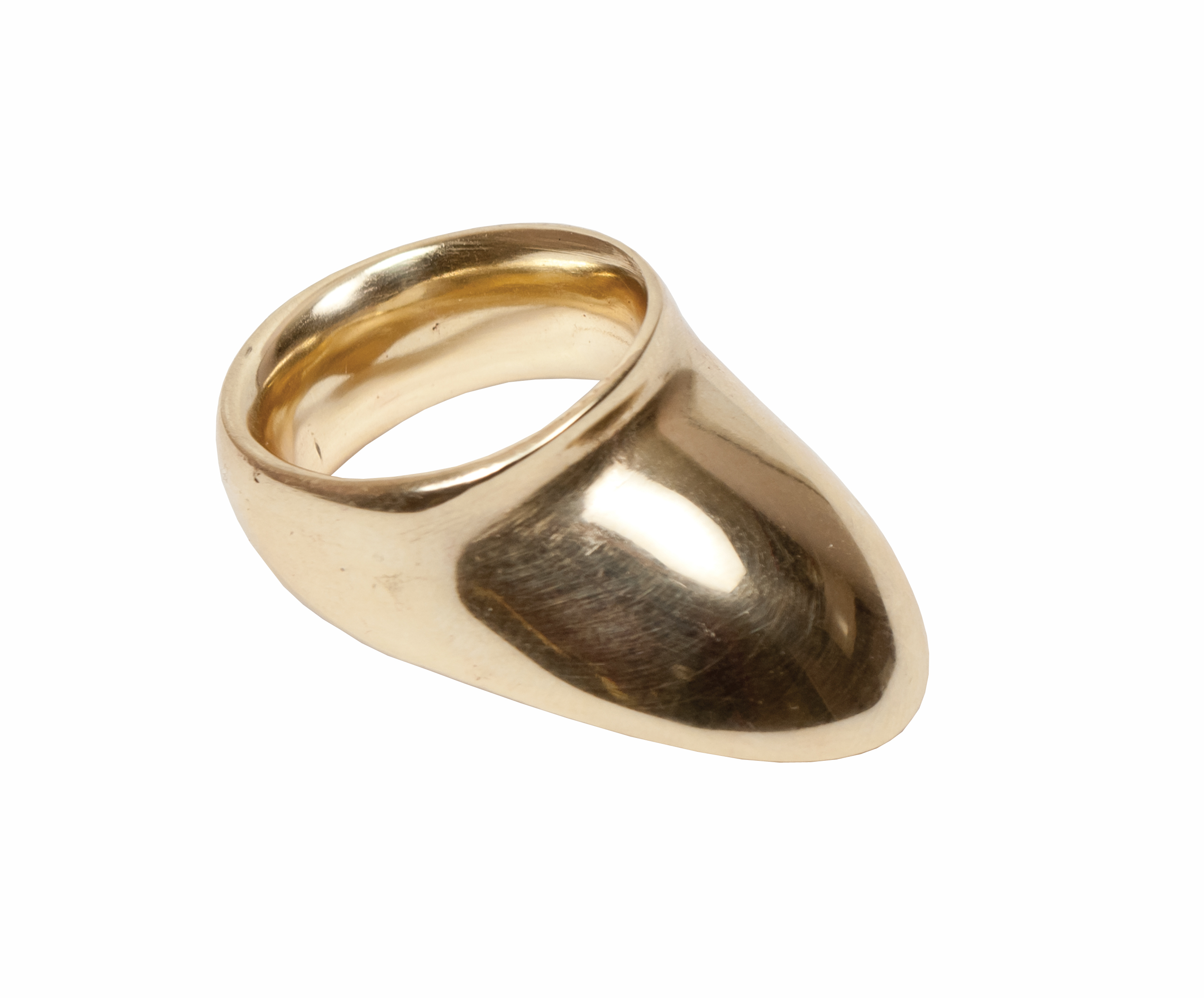 Vermil Classic Thumb Ring (Brass) – (View 24 of 25)