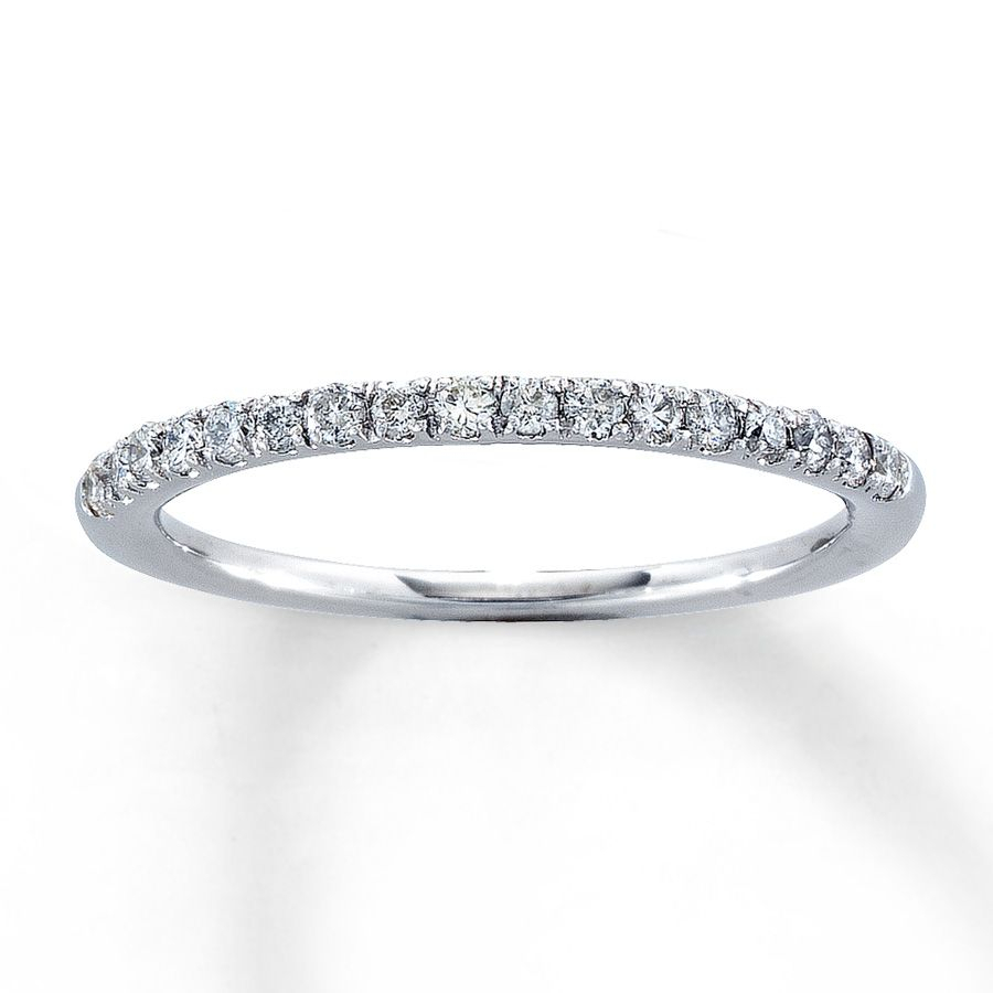 Featured Photo of Celebration Ideal 1Diamond Five Stone Anniversary Bands In White Gold