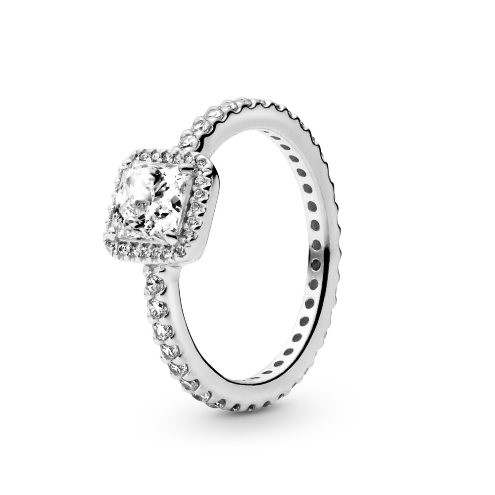 View All Rings Throughout Newest Entwined Circles Pandora Logo & Sparkle Rings (Gallery 5 of 25)
