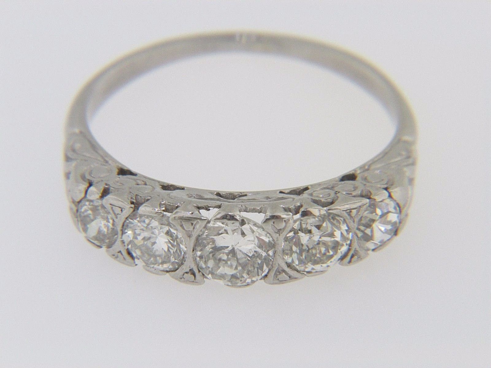 Vintage Diamond Rings | Thomas Jewelers With Best And Newest Vintage Circle Rings (View 16 of 25)