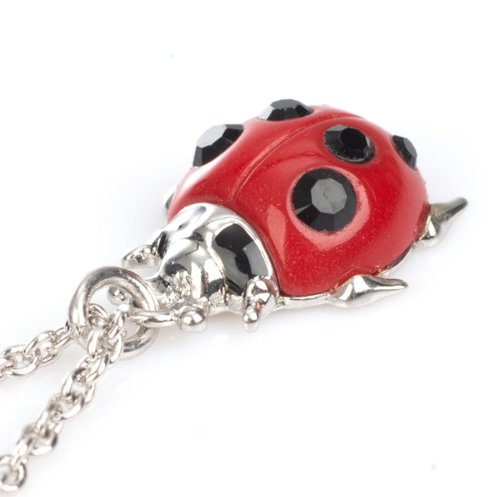 Vivienne Westwood Ladybird Silver Tone Pendant Necklace – Bp1522/2 Intended For Latest Pink Ladybird Pendant Necklaces (Gallery 18 of 25)