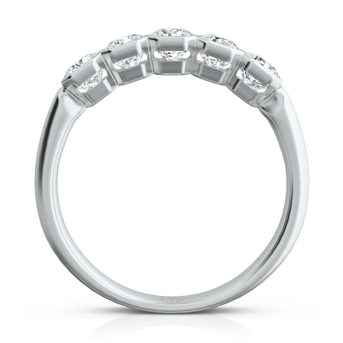 Wb96 Pertaining To Latest Sparkling Square & Circle Open Rings (View 21 of 25)