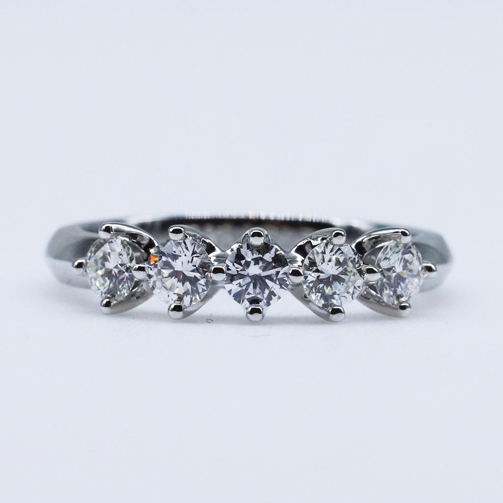 Wedding & Anniversary Bands   Janai Jewellery Regarding Latest Certified Diamond Anniversary Bands In Rose Gold (View 14 of 25)