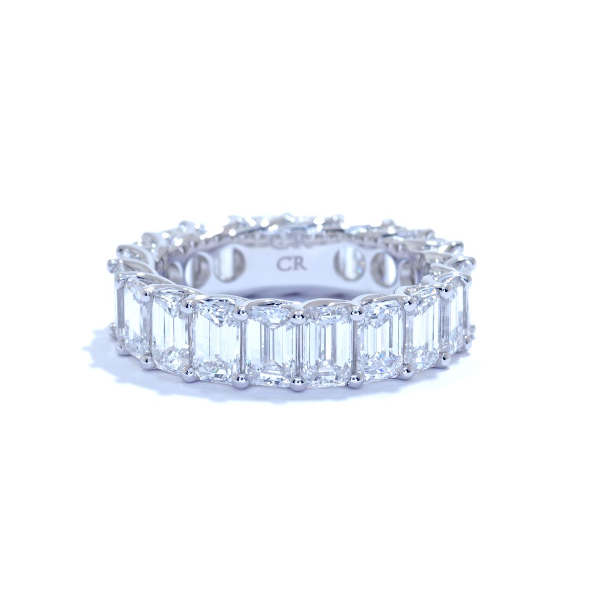 Wedding Bands – Ascot Diamonds Throughout Newest Ladies Princess Cut Diamond Seven Stone Anniversary Bands In White Gold (View 23 of 25)