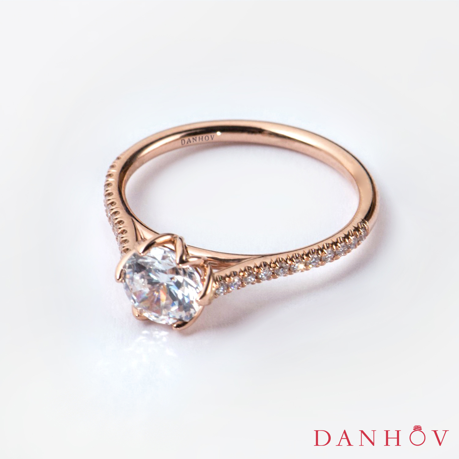 Wedding Bands | Danhov Diary Regarding Best And Newest Champagne And White Diamond Edge Anniversary Bands In Rose Gold (View 22 of 25)