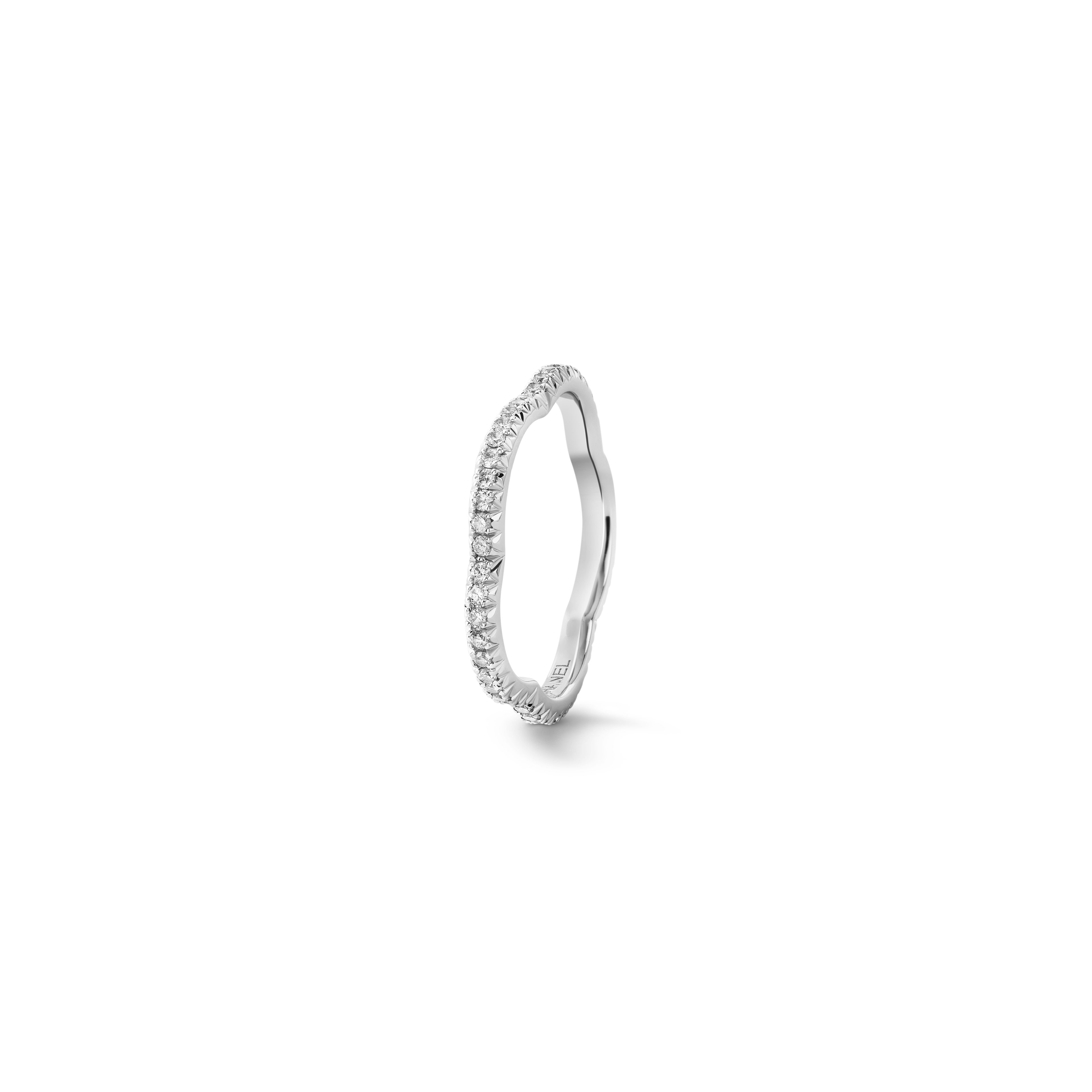 Wedding Bands – Fine Jewelry | Chanel With Regard To Latest Diamond Layered Anniversary Ring In White Gold (View 23 of 25)