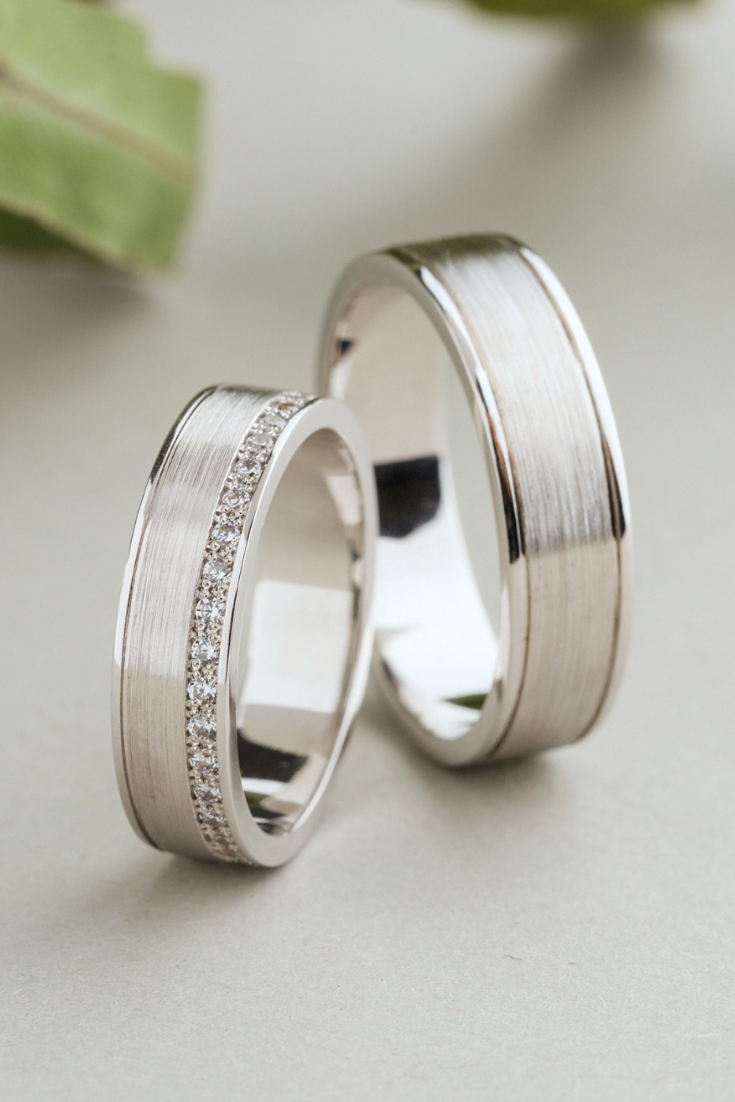 Wedding Bands His And Hers (View 18 of 20)