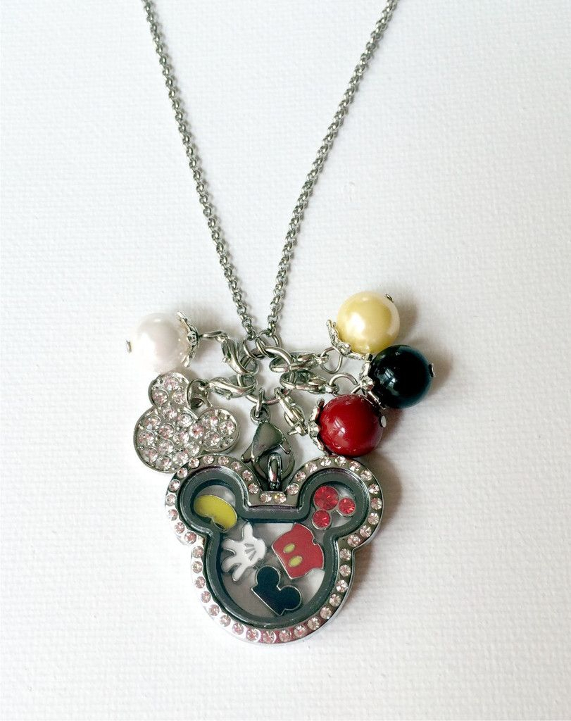 Well This Is Perfect For My Friends Who Love Disney Or Mickey Mouse Inside Recent Disney Mickey Floating Locket Necklaces (View 25 of 25)