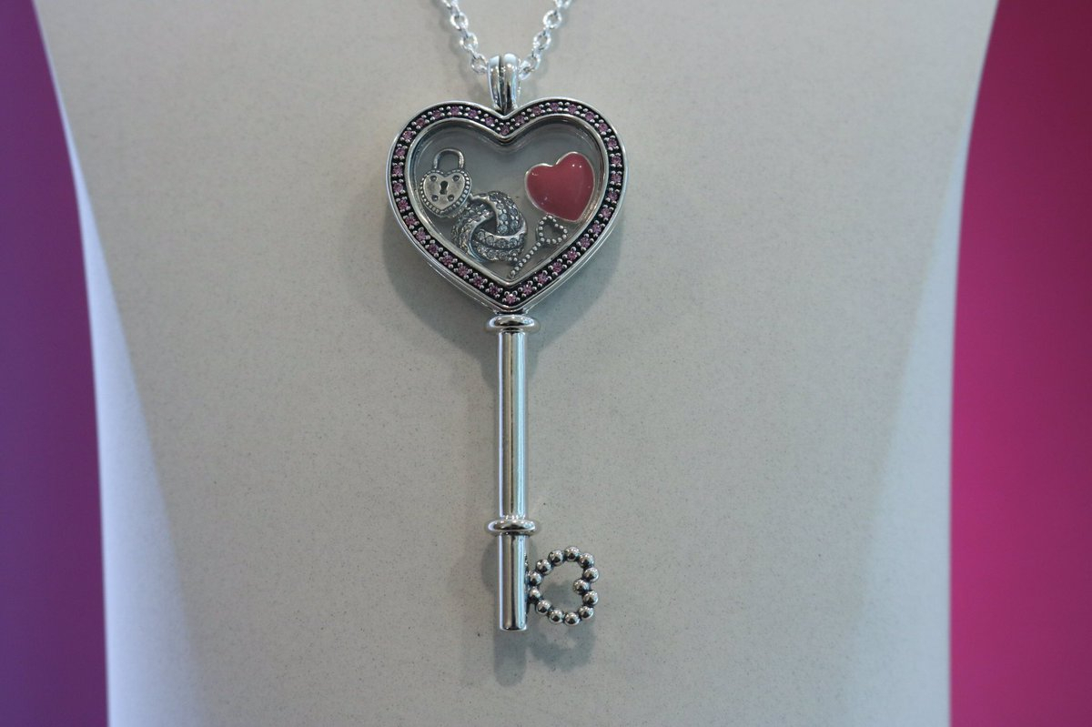 Where Can I Buy Pandora Love Locket Charm Key 53f7b A87a2 Within Recent Pandora Lockets Heart Key Necklaces (View 5 of 25)