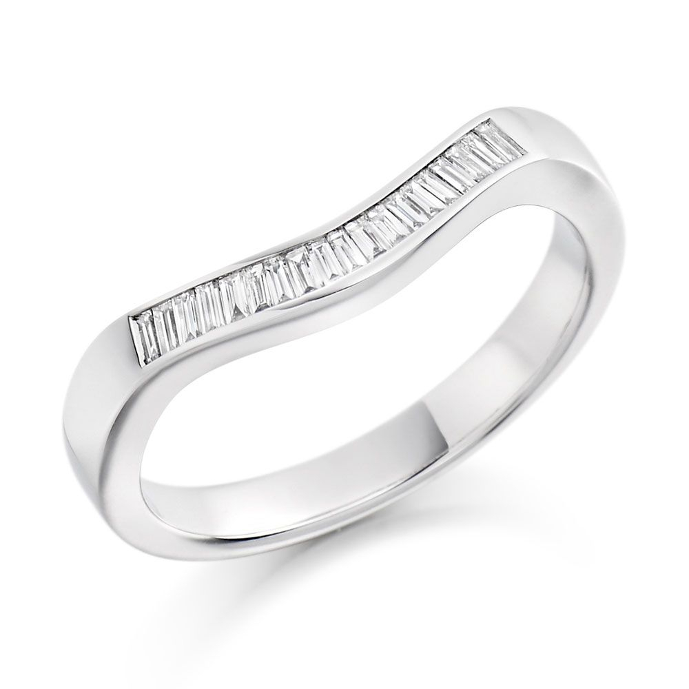 White Gold Eternity Ring  (View 24 of 25)
