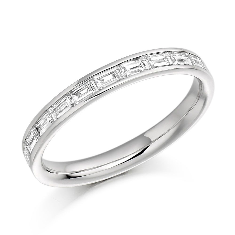 White Gold Eternity Ring  (View 25 of 25)