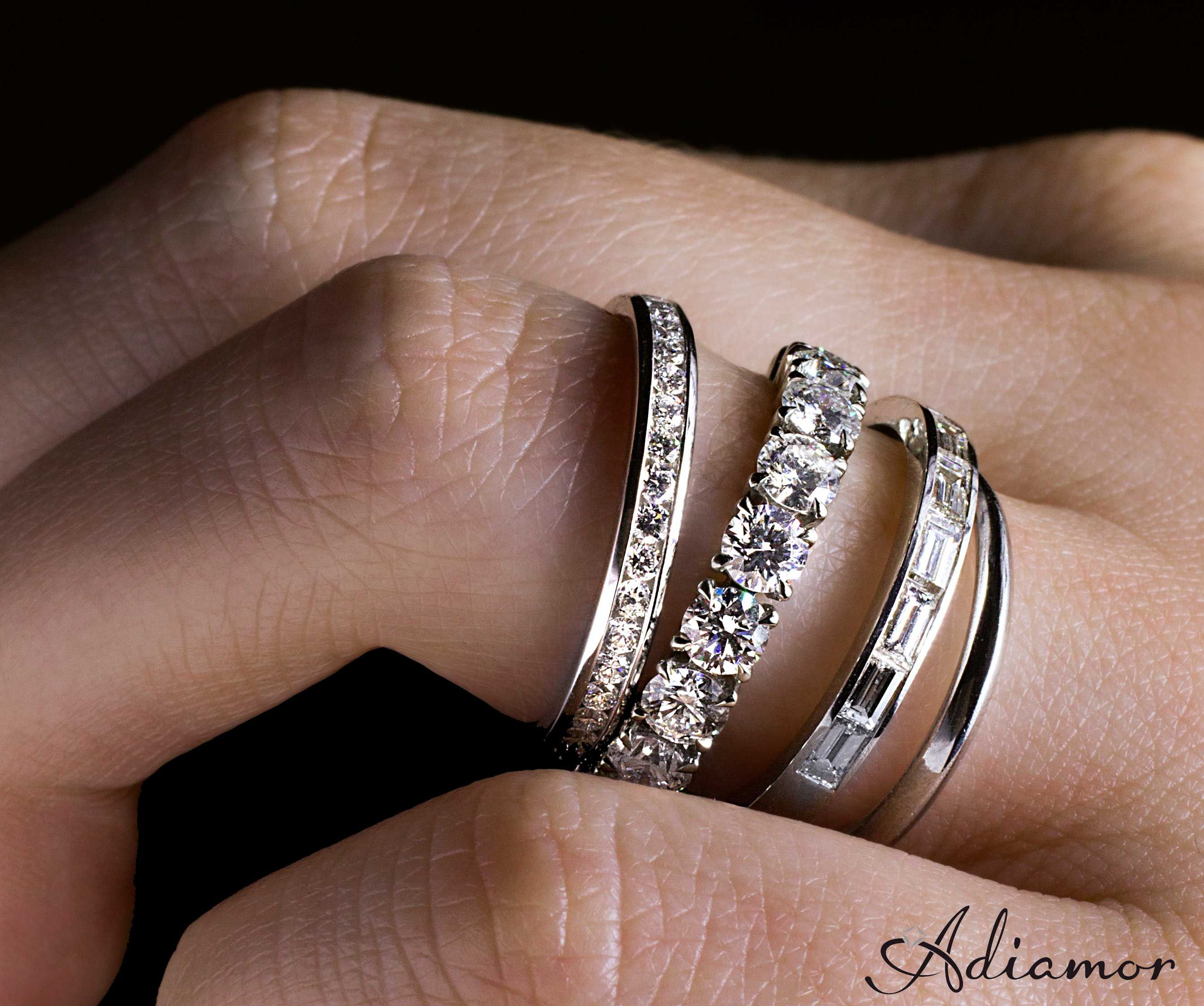 Why Do People Buy Eternity Bands?   Jewelry   Stacked For Latest Diamond Five Stone Swirl Anniversary Bands In White Gold (View 25 of 25)