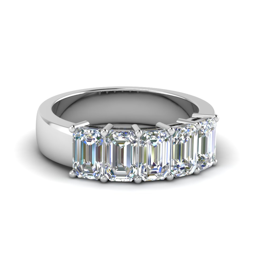 Women Wedding Rings & Wedding Bands – Fascinating Diamonds For Newest Diamond Five Row Anniversary Rings In White Gold (View 25 of 25)