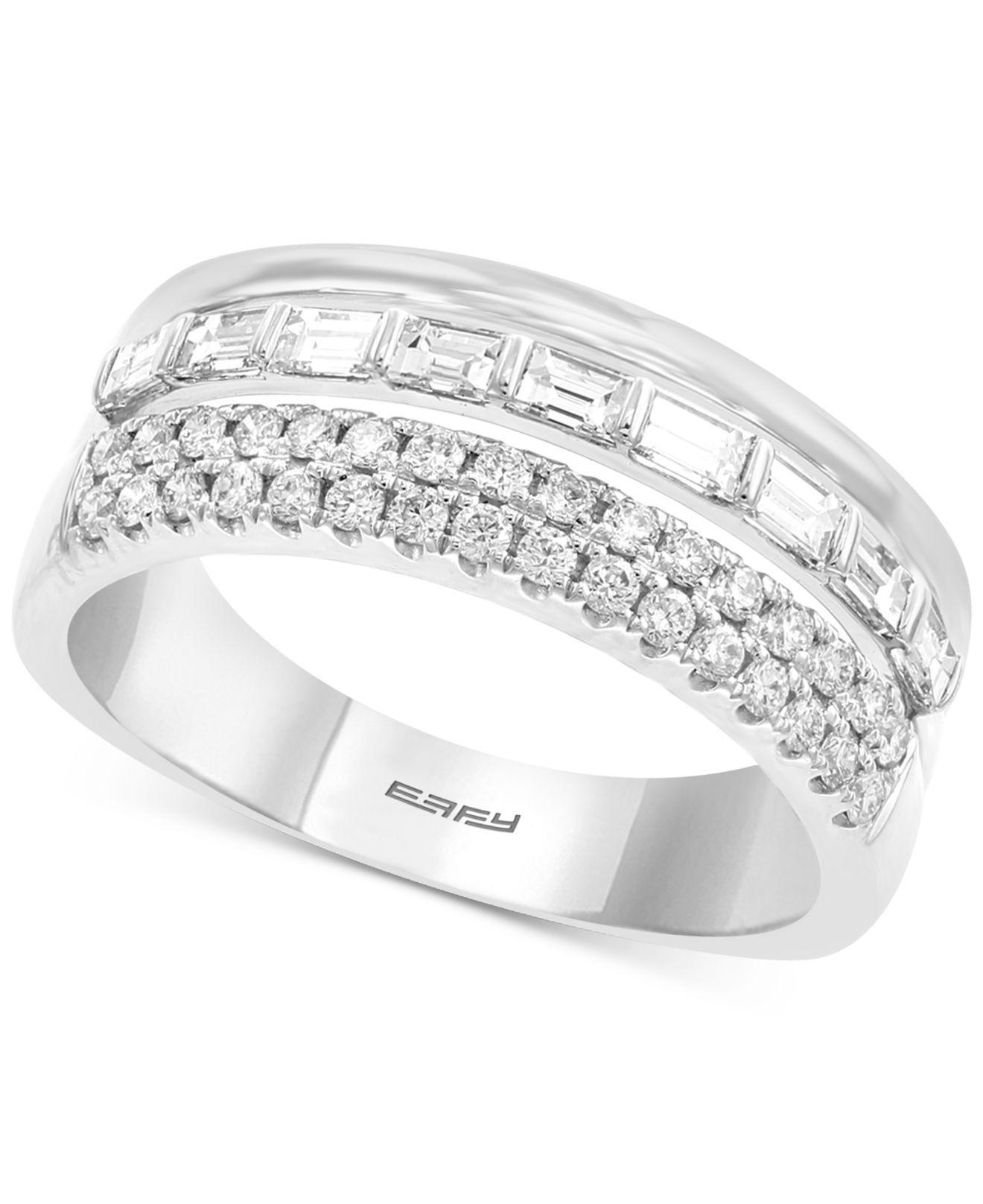 Women's Effy® Diamond Multi Row Band (3/4 Ct. T.w (View 24 of 25)