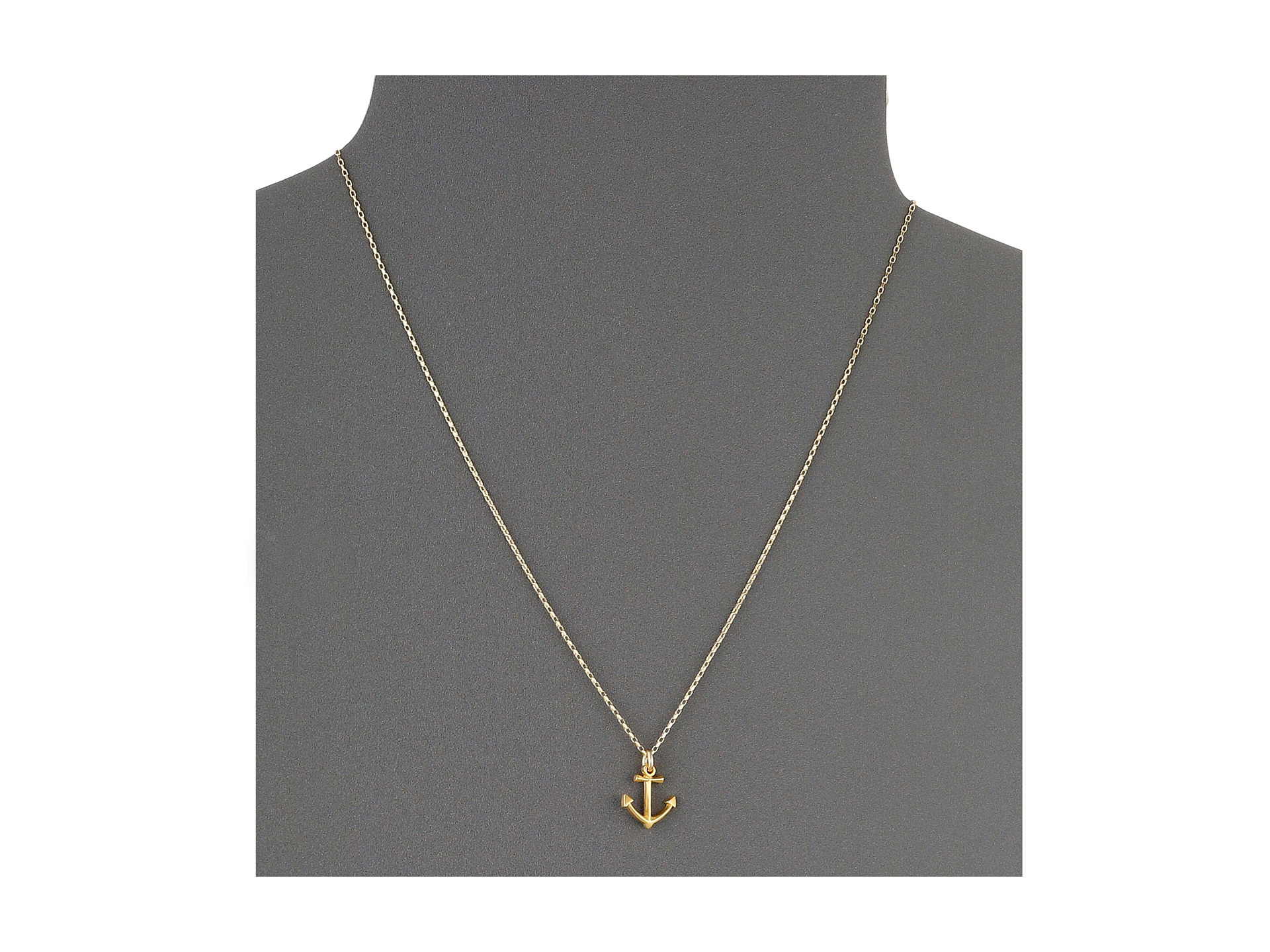 Women's Metallic Take Me To The Ocean Classic Anchor Necklace For Best And Newest Classic Anchor Chain Necklaces (View 11 of 25)