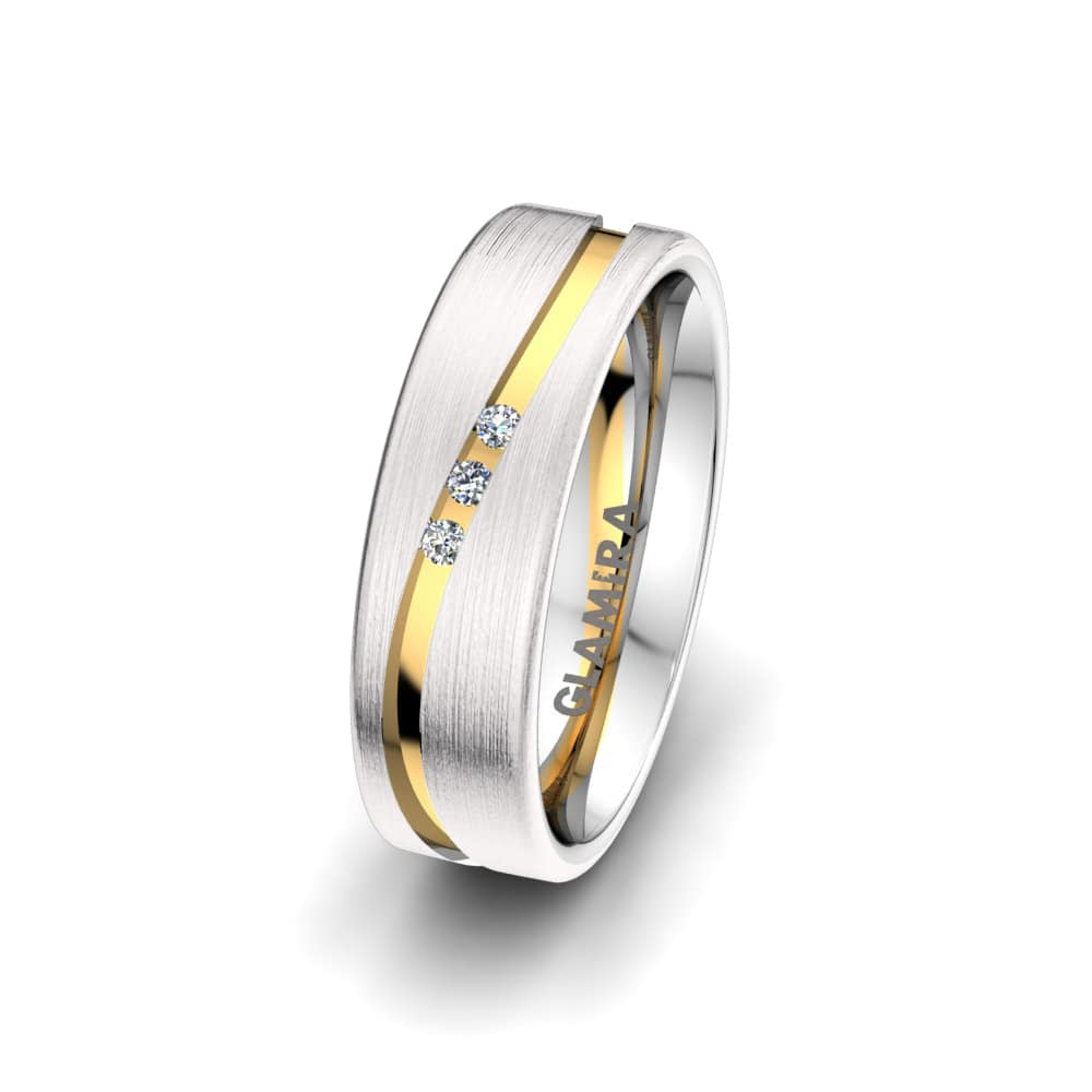 Women's Ring Heavenly Sparkle 6Mm With Latest Sparkling & Polished Lines Rings (View 25 of 25)