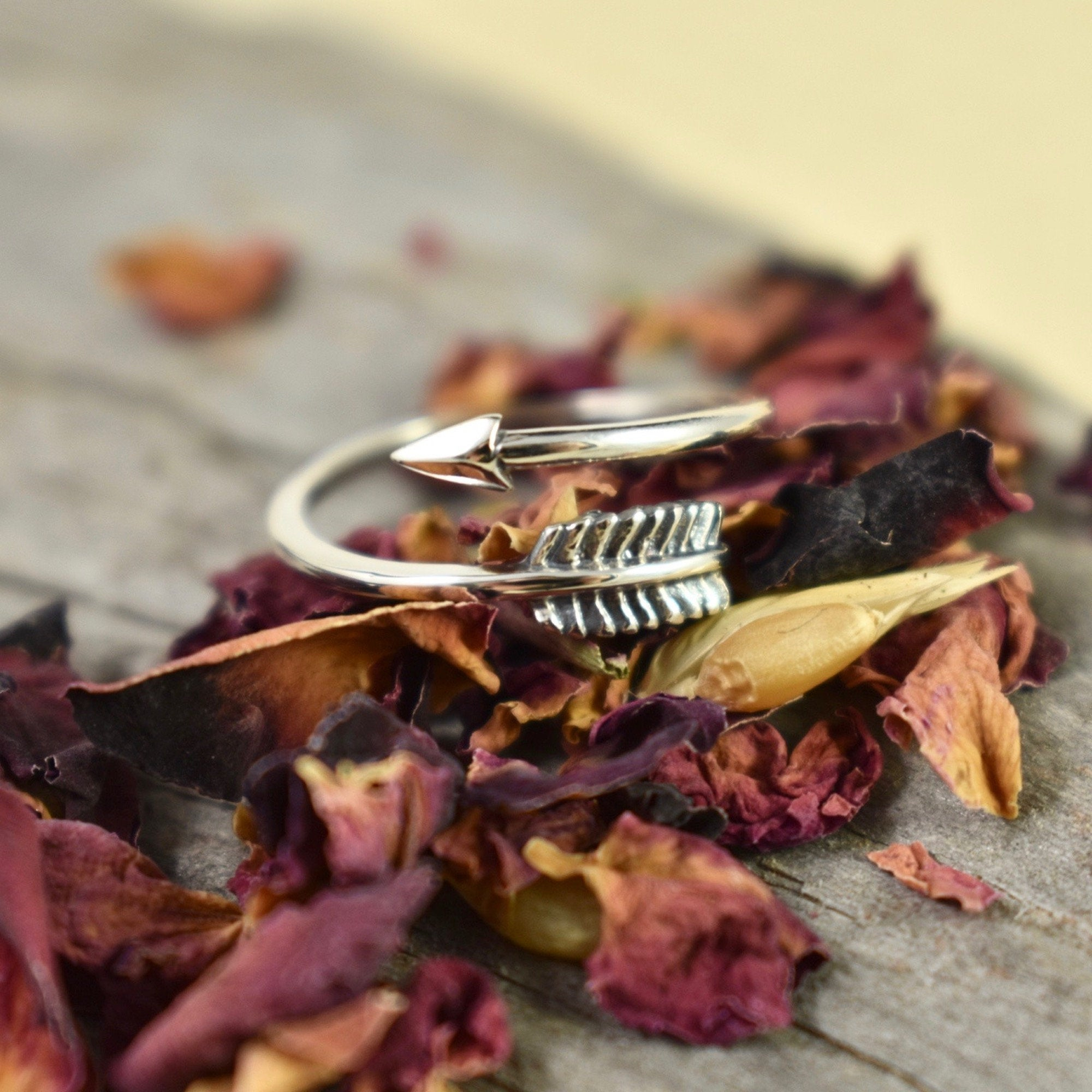 Wrap Around Arrow Ring // Sterling Silver Ring // Statement Ring // Sterling Silver // Village Silversmith Inside Most Current Wrap Around Arrow Rings (View 16 of 25)