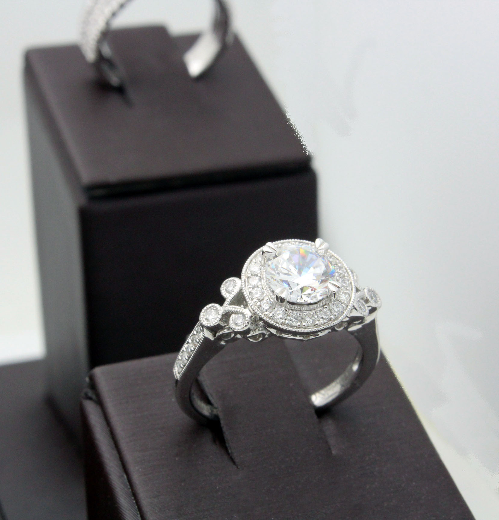 You've Found The One, Now Find The Ring | Danson Jewelers Inside 2017 Sparkling Twisted Lines Rings (Gallery 18 of 25)