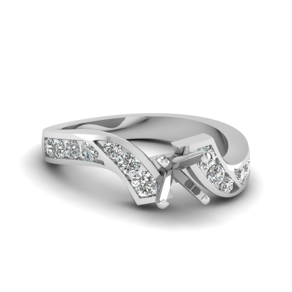 Zig Zag Ring Within Most Current Diamond Zig Zag Anniversary Rings In White Gold (View 24 of 25)