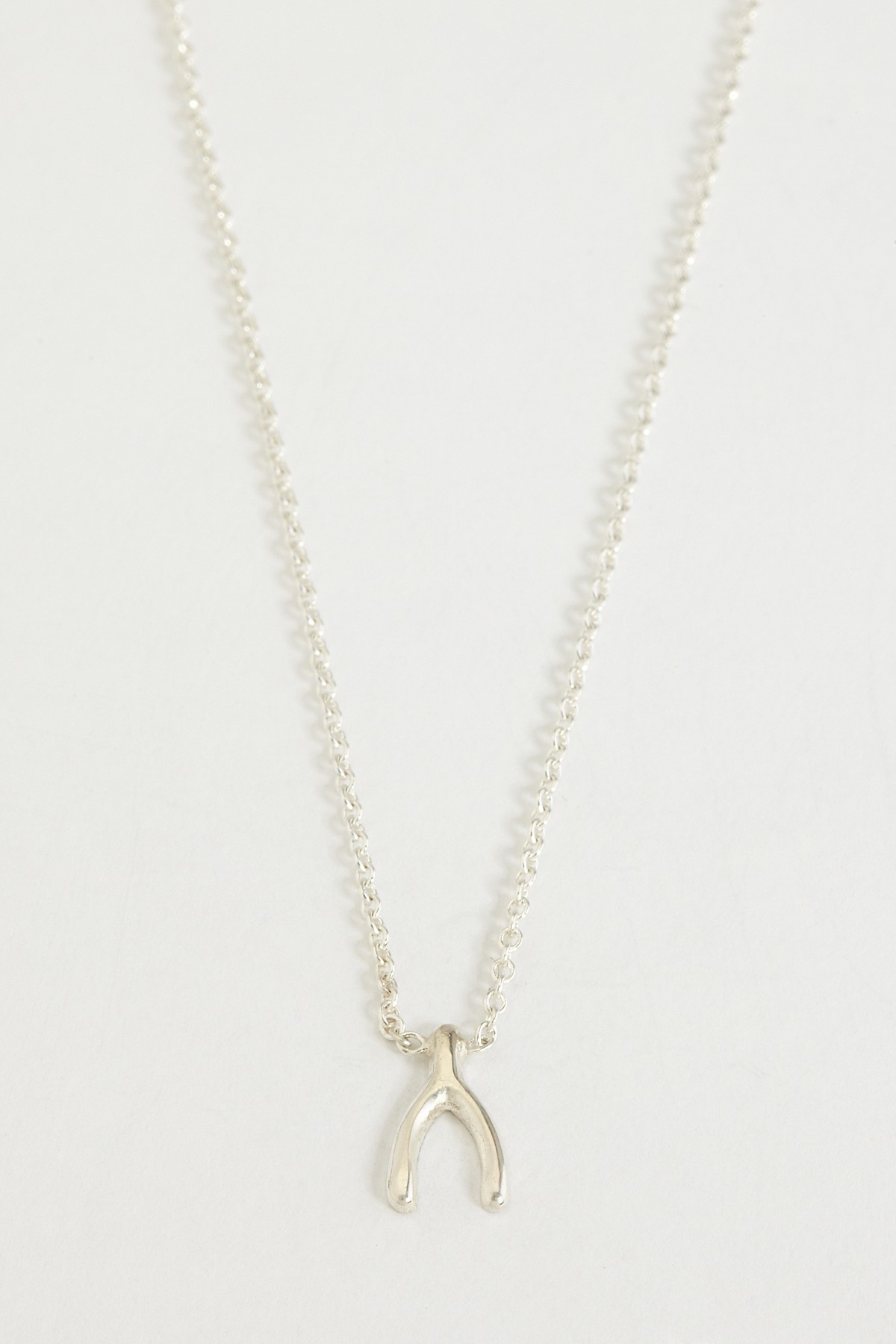 Zoe Chicco | Wishbone Necklace – Sterling Silver | Nordstrom Rack With Regard To 2019 Polished Wishbone Necklaces (View 25 of 25)
