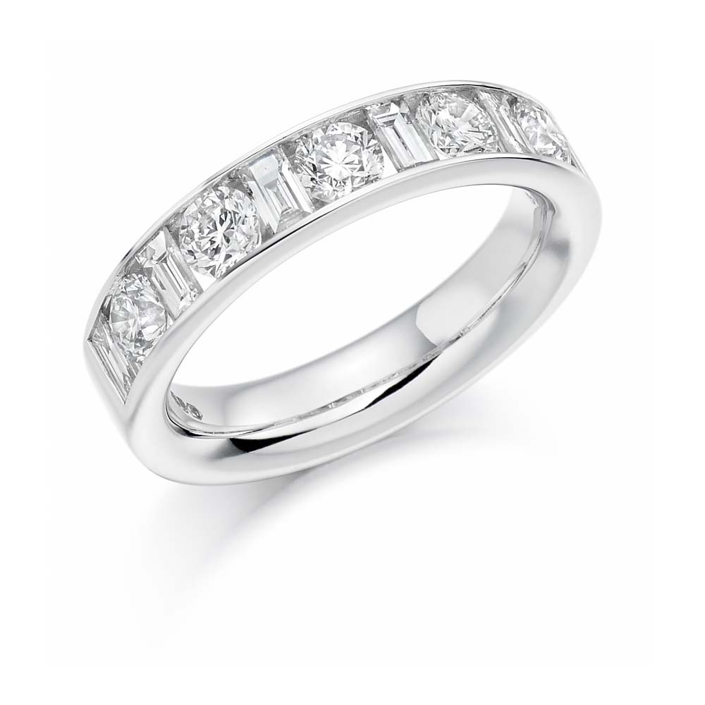18Ct White Gold  (View 1 of 25)