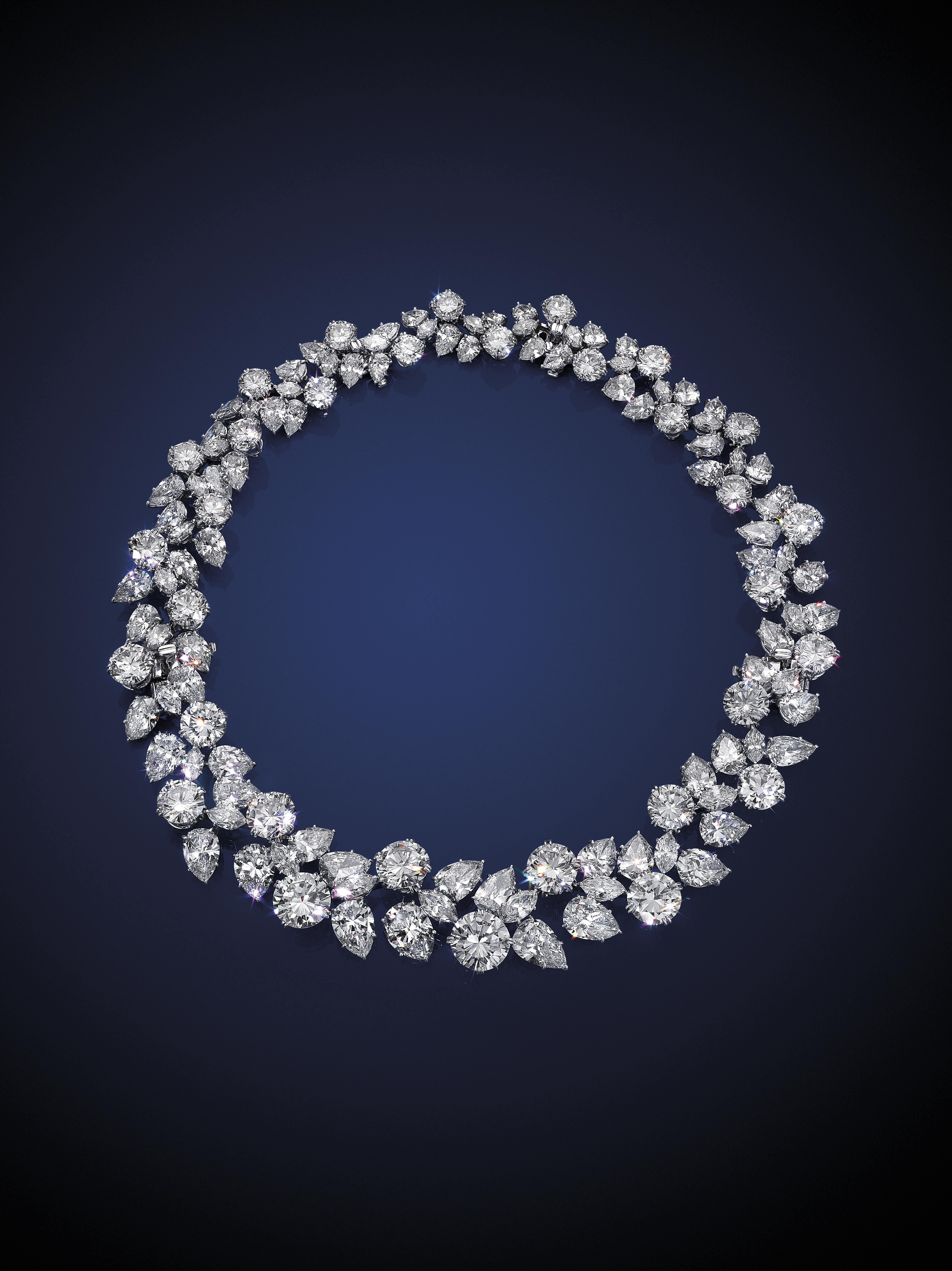5 Minutes With… A Harry Winston Wreath Necklace | Christie's Pertaining To Current Diamond Wreath Necklaces (View 2 of 25)