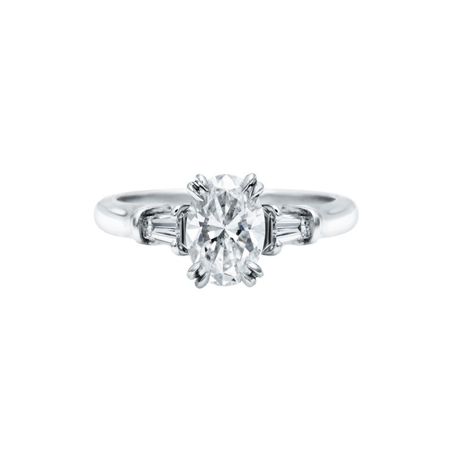 60 Classic Engagement Rings For The Timeless Bride Within Winston Blossom Diamond Engagement Rings (View 16 of 25)