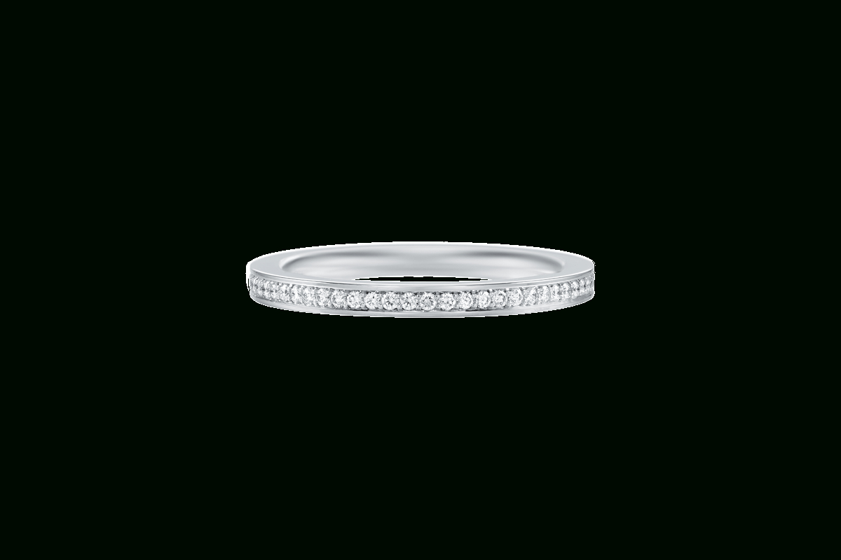 Belle Diamond Wedding Band | Harry Winston For Most Popular Full Micropavé Diamond Wedding Bands (View 12 of 25)