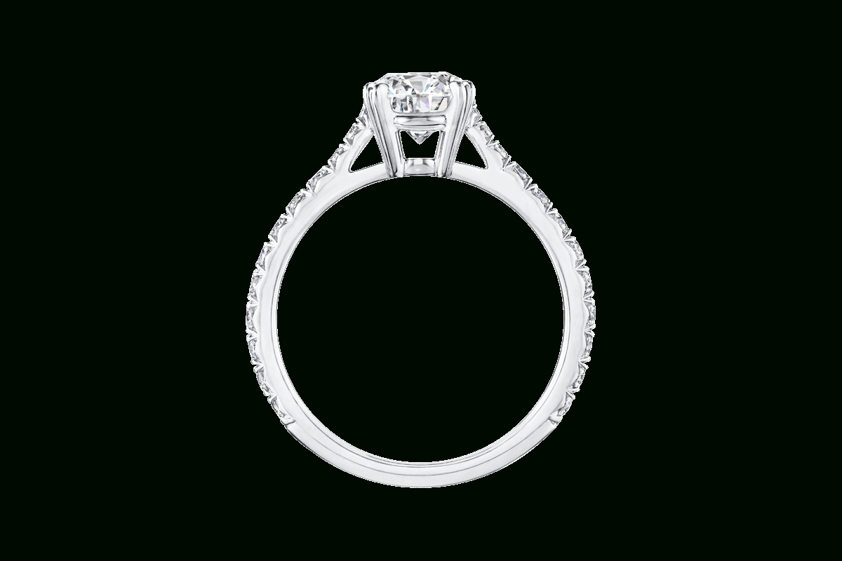 Brilliant Love Diamond Engagement Ring | Harry Winston Inside Brilliant Love Diamond Engagement Rings (View 2 of 25)