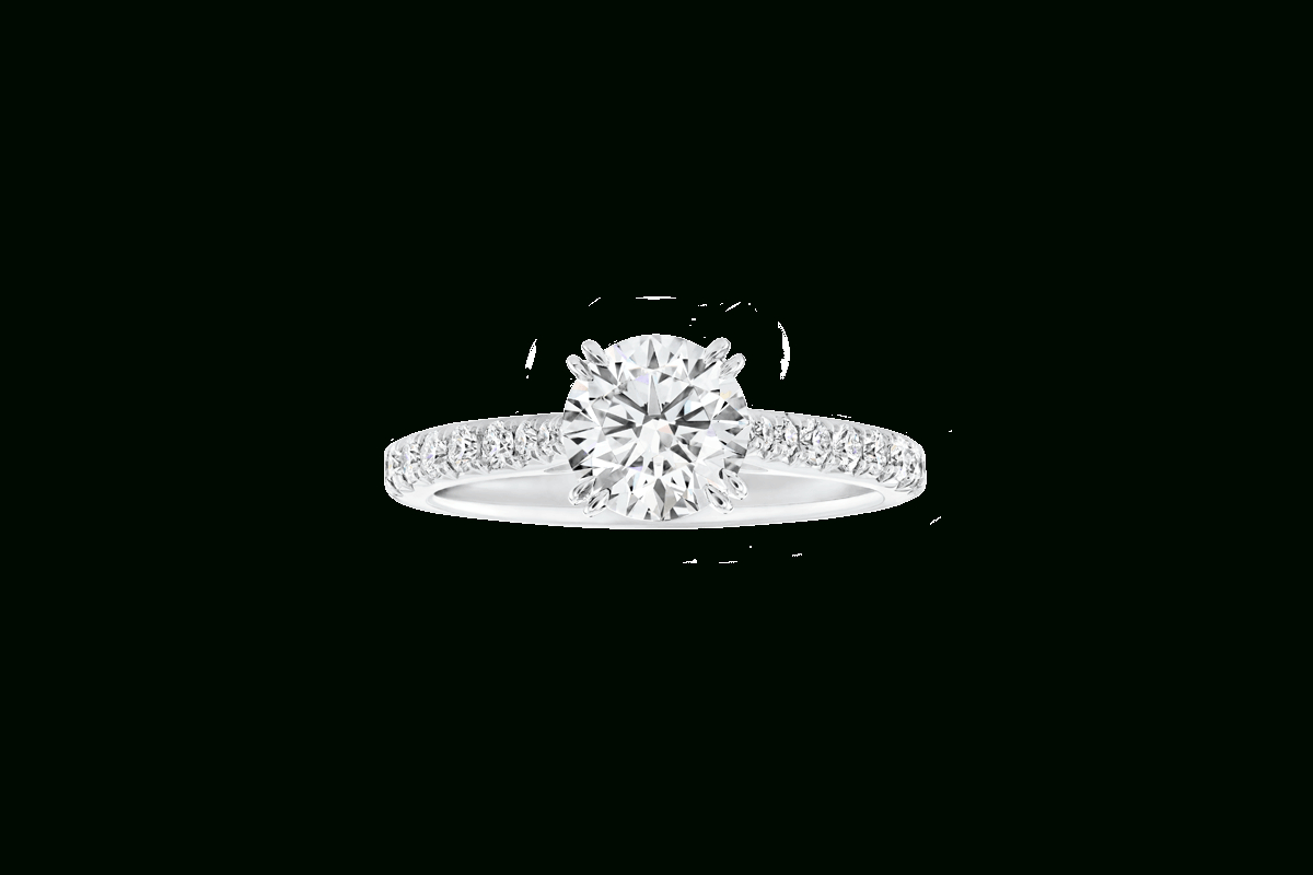 Brilliant Love Diamond Engagement Ring | Harry Winston Intended For Brilliant Love Diamond Engagement Rings (View 5 of 25)