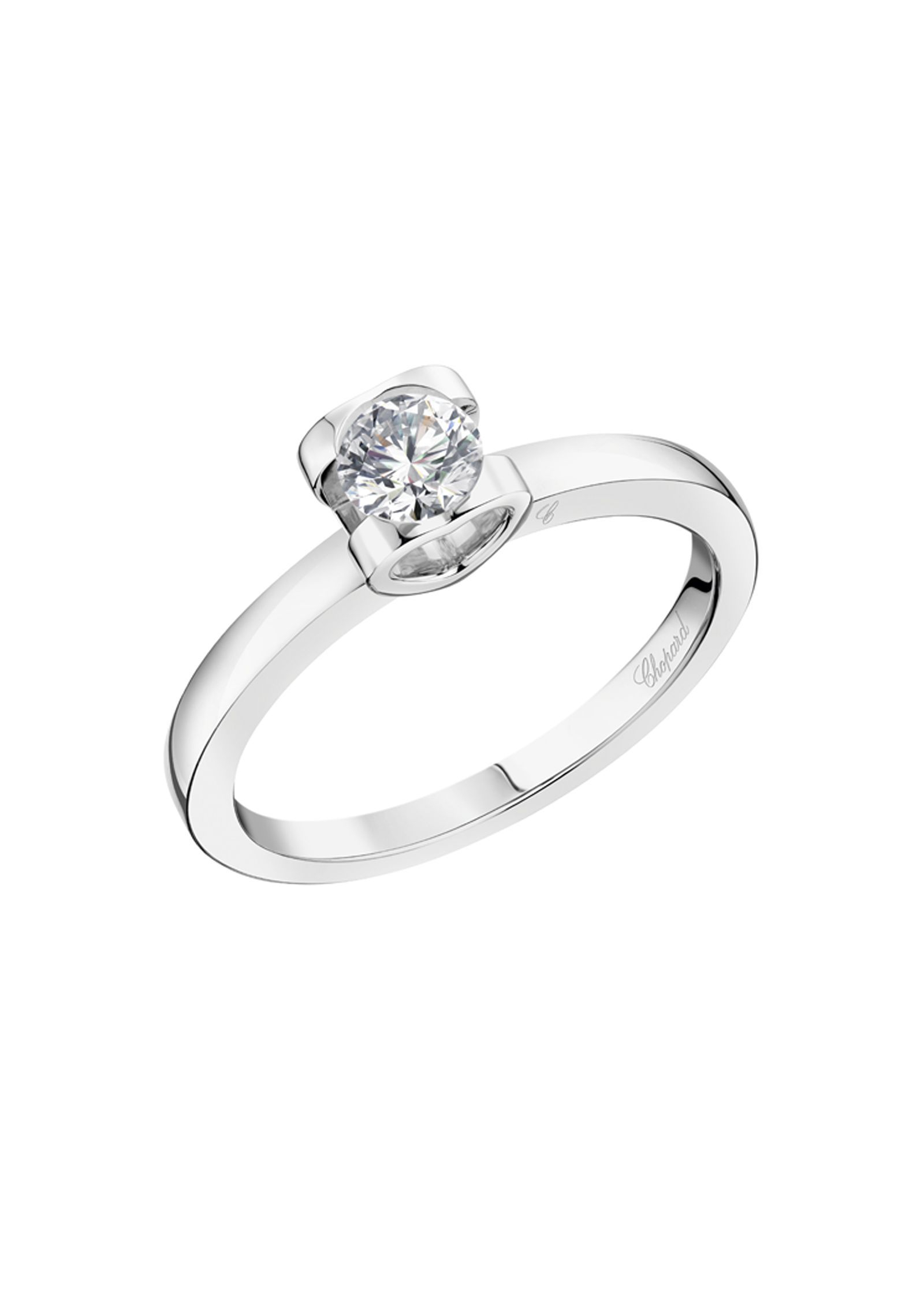 Chopard For Love Ring Platinum, Diamond @827874 9000 Inside Brilliant Love Diamond Engagement Rings (View 23 of 25)