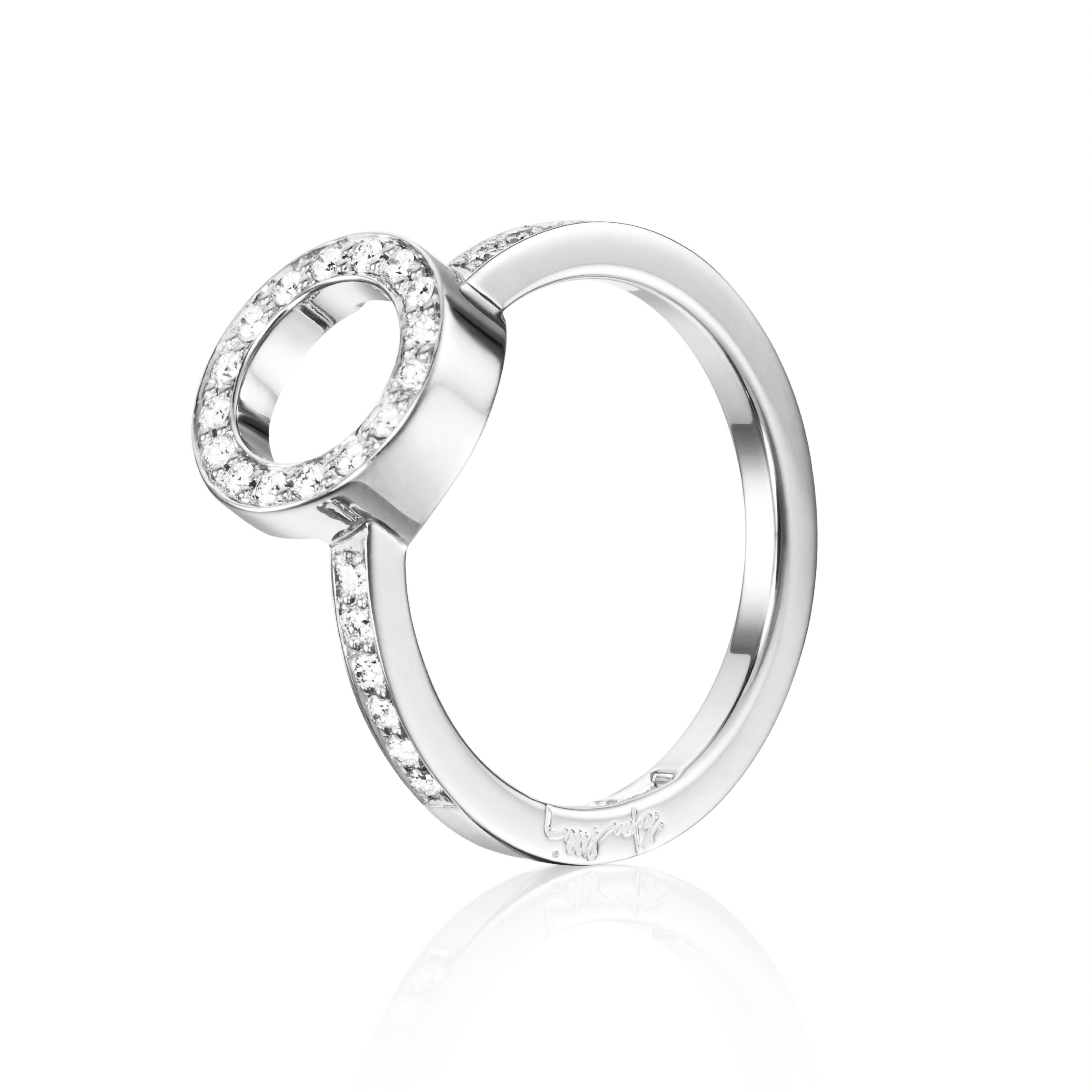 Circle Of Love Ring I Throughout Brilliant Love Diamond Engagement Rings (View 22 of 25)