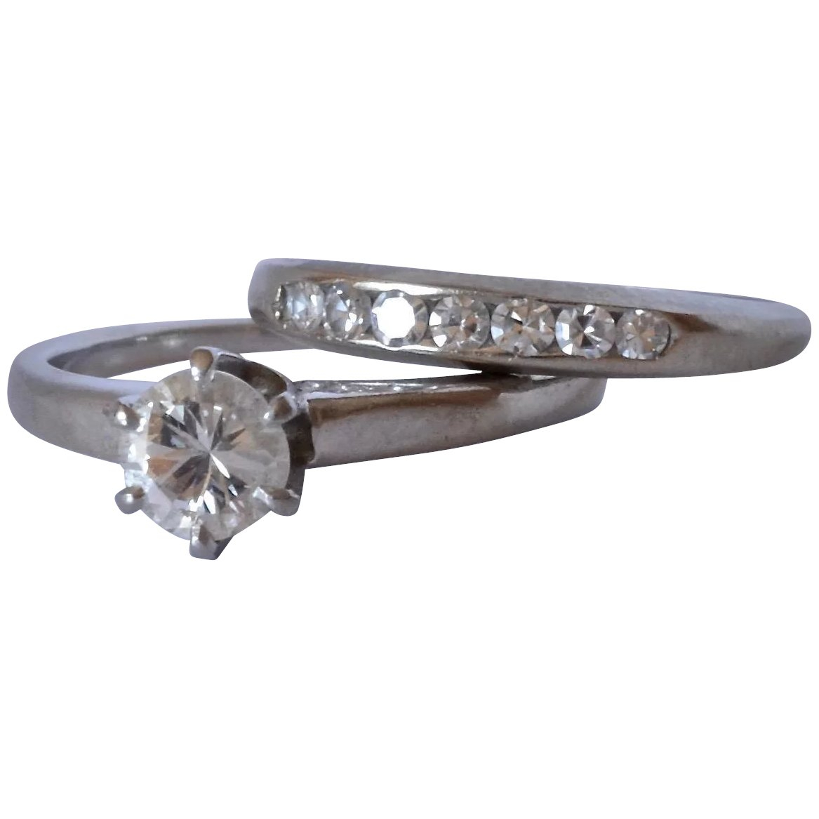 Classic 14K White Gold Prong Set Brilliant 0.5 Ct (View 9 of 25)