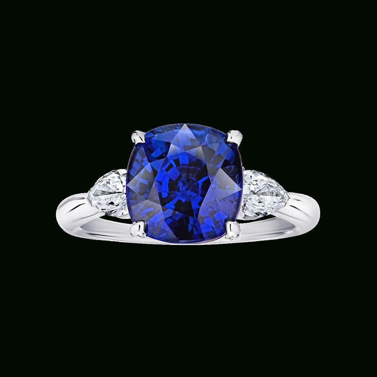 Featured Photo of Cushion Cut Sapphire Rings