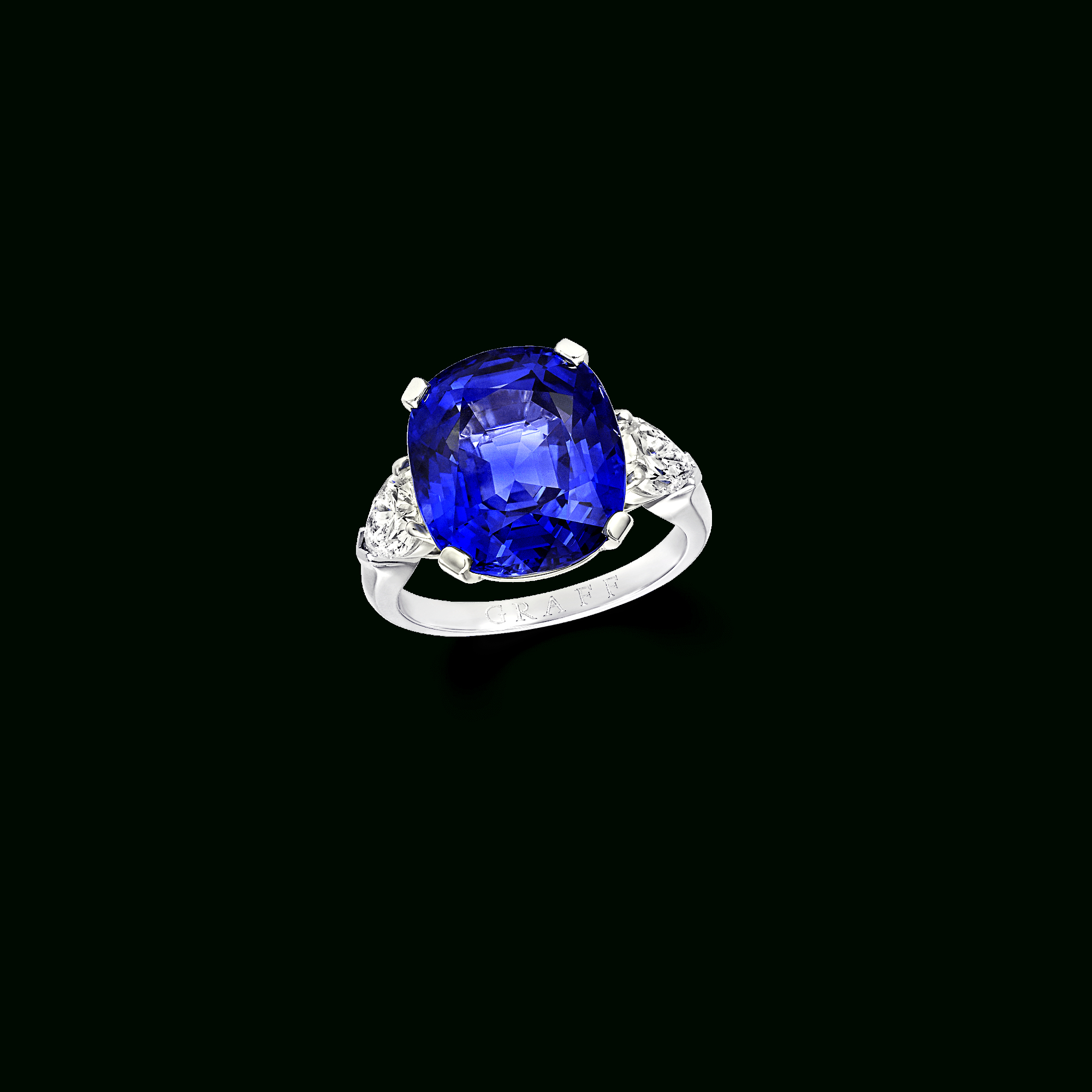 Cushion Cut Sapphire Ring | Classic Graff | Graff With Regard To Cushion Cut Sapphire Rings (View 15 of 25)