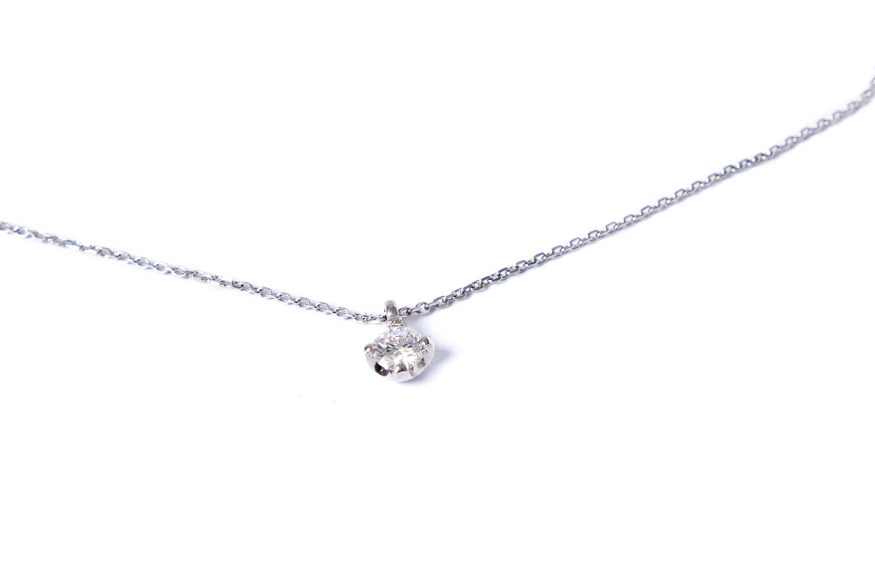 Featured Photo of Diamond Necklaces In Platinum