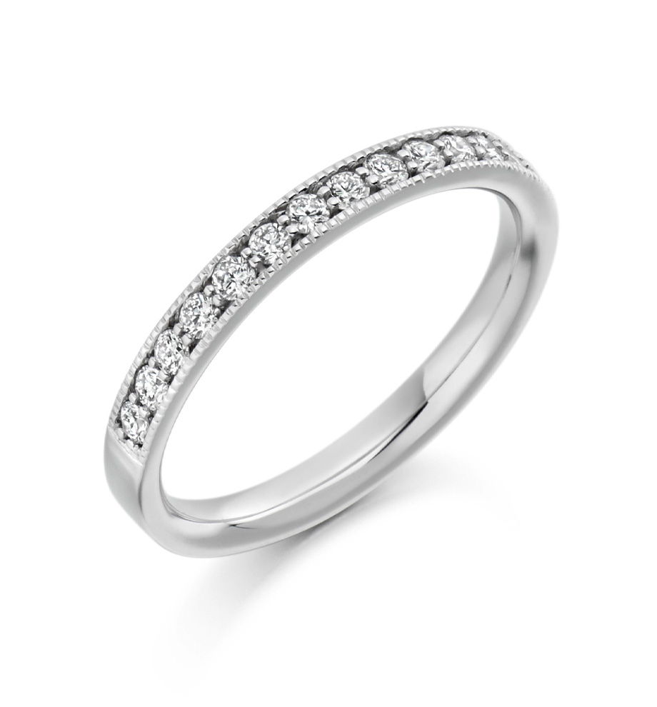 Diamond Set Bandssimon Pure Jewellery In 2018 Wave Diamond Wedding Bands With Pavé (View 24 of 25)