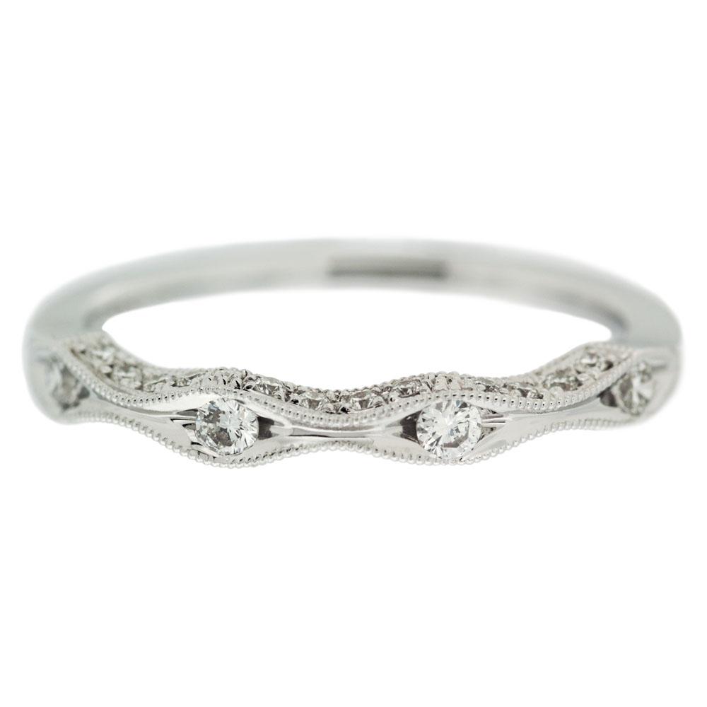 Diamond Wave Wedding Band | Mouradian Custom Jewelry Boston, Ma With Regard To Most Recently Released Wave Diamond Wedding Bands (View 5 of 25)