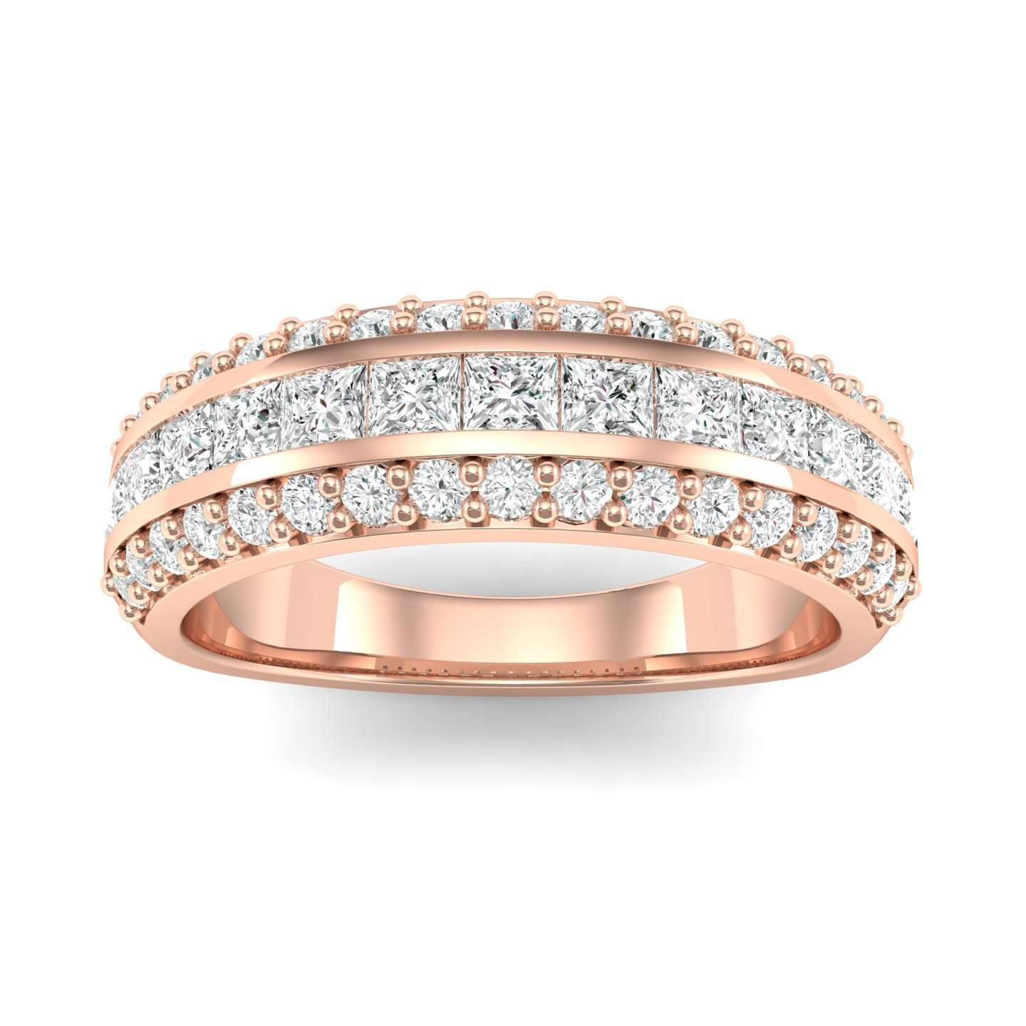 Diamond Wedding Rings For Women |Iconic Jewelry Pertaining To Newest Vertical Diamond Row Wedding Bands (View 9 of 25)