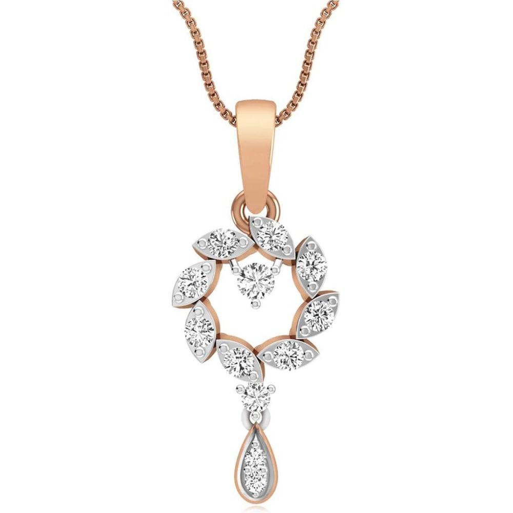 Diamond Wreath Pendant For Recent Diamond Wreath Necklaces (View 11 of 25)