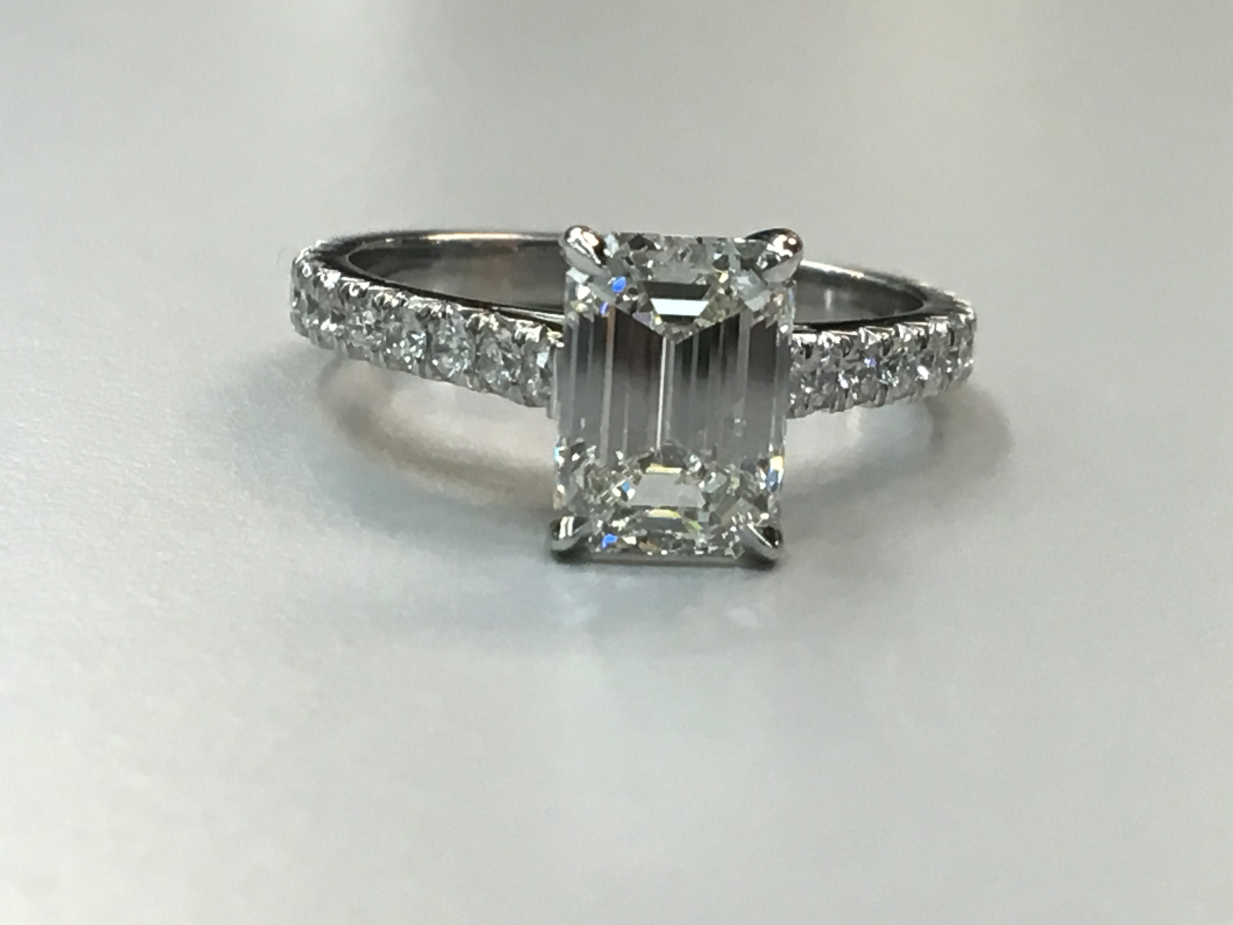 Engagement Rings | Cohen Bros. With Regard To Heart Shaped Engagement Rings With Tapered Baguette Side Stones (Gallery 19 of 25)