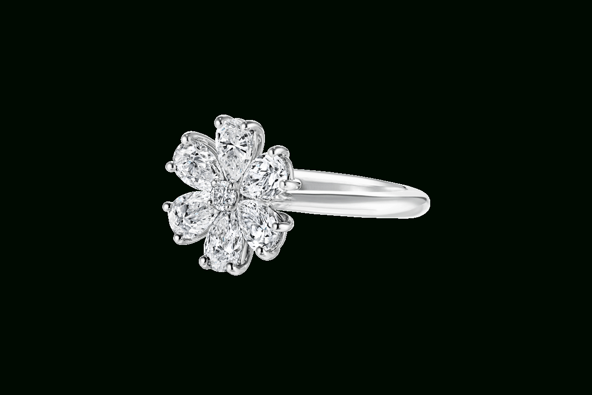 Forget Me Not Diamond Ring | Harry Winston For Winston Blossom Diamond Engagement Rings (Gallery 9 of 25)
