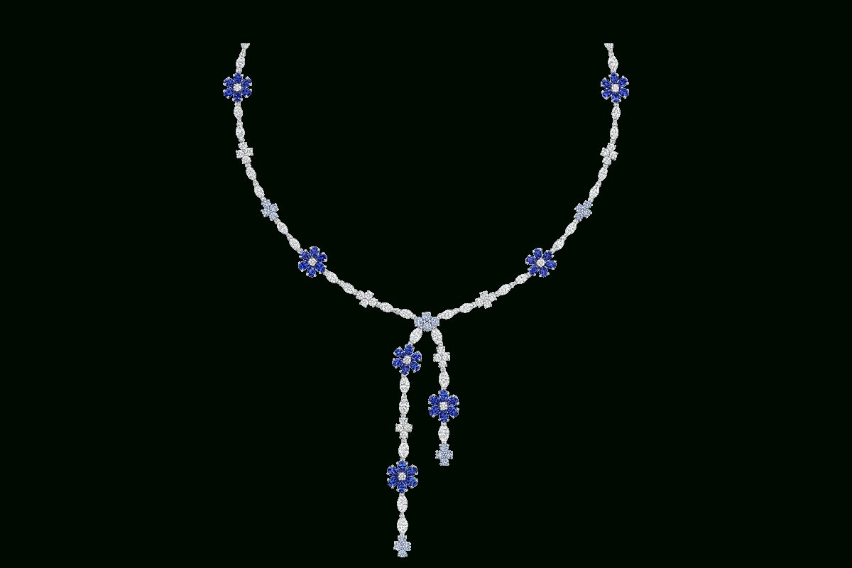 Featured Photo of Lariat Sapphire And Diamond Necklaces