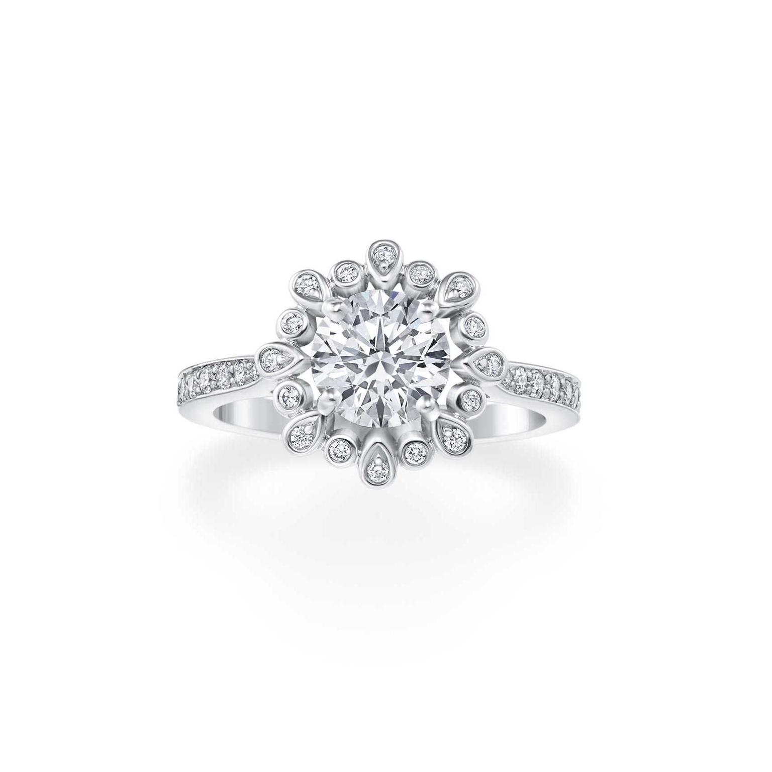 Featured Photo of Winston Blossom Diamond Engagement Rings
