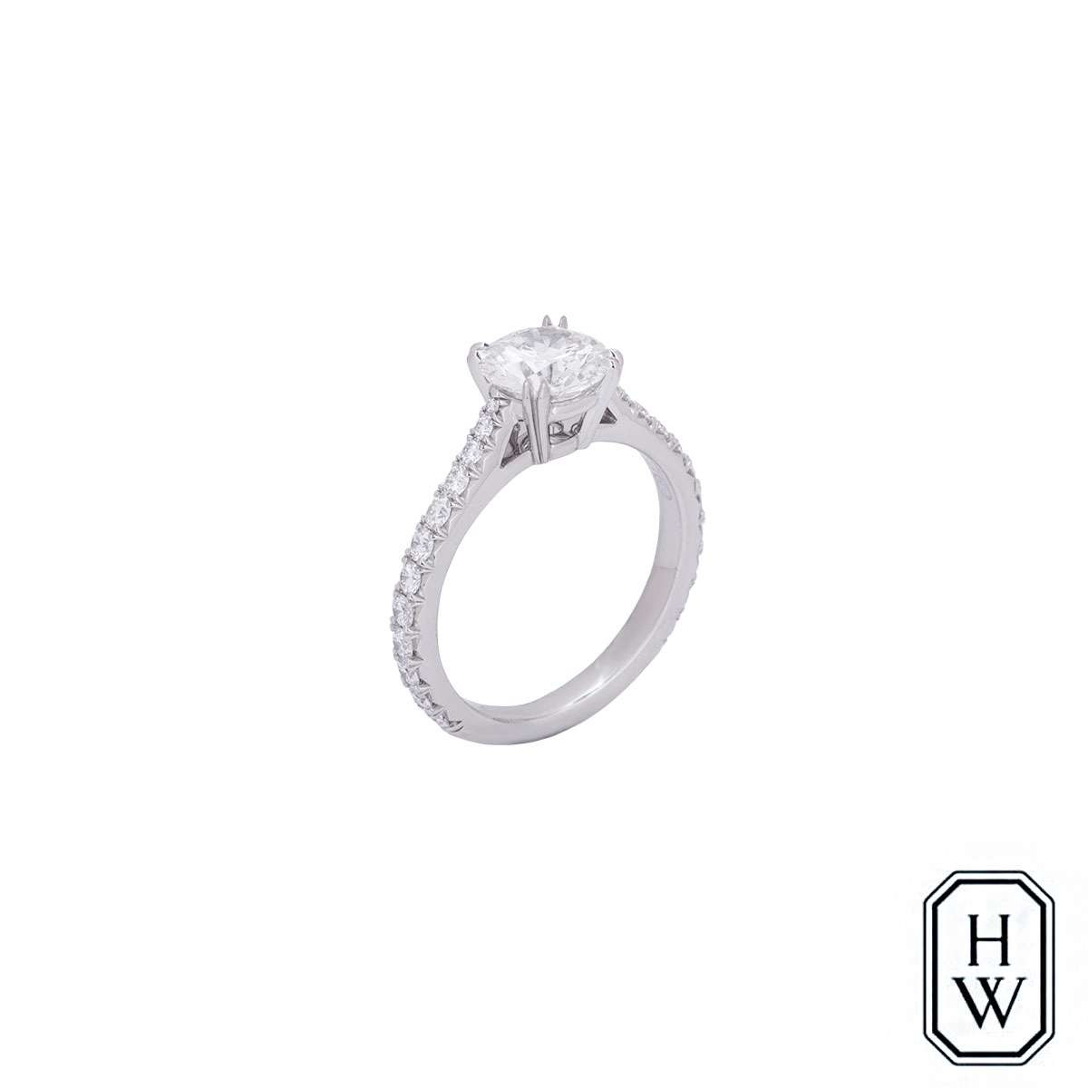Harry Winston Brilliant Love Diamond Ring For Brilliant Love Diamond Engagement Rings (View 10 of 25)